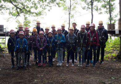 Ausflug der Jugendkapelle in den Waldkletterpark nach Weinsberg