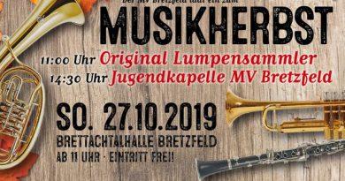 Musikherbst am 27.10.2019