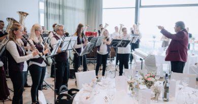 Ständchen anlässlich der Hochzeit von Nicole und Philipp Reimold